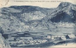 05    CERVIERES Eglise Village 1928 - Autres Communes