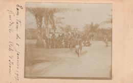 GUIDEKO Côte D'Ivoire       Tam-Tam Du 1er Janvier 1907 à Guidéko -Côte D'Ivoire   RARETE - Ivory Coast
