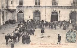 21 - COTE D' OR / Dijon - 213520 - Belle Série De 12 Cartes - Inventaire Des Eglises - Dijon