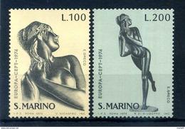 1974 SAN MARINO SERIE COMPLETA MNH ** - Ungebraucht