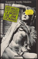 LEO MALET PSEUDONYME LEO LATIMER / LA MORT DE JIM LICKING / EDITIONS NEO 1982 MIROIR OBSCUR E12 - Leo Malet