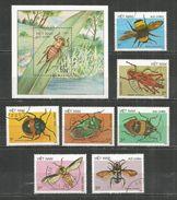 Vietnam 1987 Used Stamps Set+ Block - Viêt-Nam
