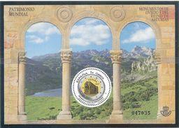 España 2017 - 1 Hojita Bloque Nueva**MNH-Patrimonio Mundial- Monumentos De Oviedo-Espagne Spain Spanien Spagna - 1931-Hoy: 2ª República - ... Juan Carlos I