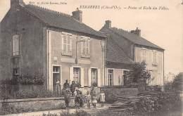 21 - COTE D' OR / Esbarres - 213704 - Poste Et école Des Filles - Beau Cliché Animé - France