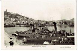 IBIZA ( Baleares ) - La Ciudad Y El Puerto - Ibiza
