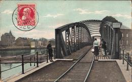 Thématiques Belgique Namur La Passerelle La Rive Droite Cachet 1911 Timbre - Namur