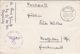 Feldpost WW2: Infanterie Ersatz Btl. 372 P/m Bayreuth 2 9.2.1941 - Letter Inside  (DD16-3) - Seconda Guerra Mondiale