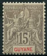 Guyane (1900) N 45 * (charniere) - Guyane Française (1886-1949)