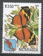 Nicaragua 1982. Scott #C1001 (U) Consul Hippona, Butterfly, Papillon - Nicaragua
