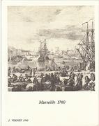 Menu Bateau Paquebot RENAISSANCE Illustration Marseille 1760 J. Vernet - Schiffe