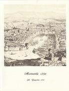 Menu Bateau Paquebot RENAISSANCE Illustration Marseille 1850 A. Guesdon - Bateaux