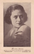 MERCEDES SIMONE, AUTOGRAPH ORIGINAL CIRCA 1930s-BLEUP - Autographs