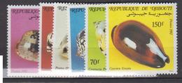 DJIBOUTI       1982                N .  557 /562        COTE     9 . 50      EUROS        ( S 229 ) - Djibouti (1977-...)