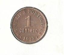 Portugal - 1 Centavo ($01) 1917 - XF/SUP - Portugal
