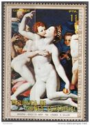 """267 Guinea Equatoriale 1972 """"..trionfo Di Venere """" Quadro Dipinto Dal Bronzino Nuovo MNH Manierismo Paintings Equatorial - Guinea Equatoriale"""