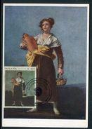 Panama - Carte Maximum  - Art - Oeuvre De Goya - Panama