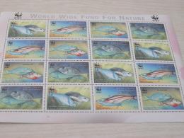 Grenada Carriacou & Petite Martinique WWF  Fish Marine Life - Unused Stamps