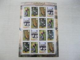Gambia WWF  Birds Crane - Unused Stamps