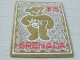 Grenada Teddy Bears Embroidered - Postzegels