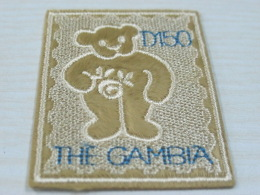 Gambia Teddy Bears Embroidered - Postzegels