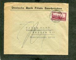 Deutsches Reich Saargebiet Brief 1927 - Germany