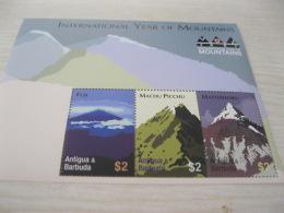Antigua Barbua Year Of Mountains - Antigua And Barbuda (1981-...)