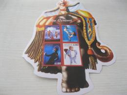 Antigua Barbua Circus Odd Shape - Antigua And Barbuda (1981-...)