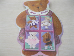 Antigua Barbua Teddy Bears Odd Shape - Antigua And Barbuda (1981-...)