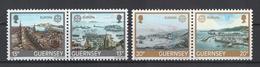 Guernesey: 1983. Y&T N° 267/70 **. Superbes (TP Se Tenant). Cote 2012 : 3 € - Guernsey