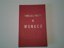 Catalogue Spécialisé Des Timbres De Monaco Par A. Novo 1959 (  160 Pages ) - Catálogos De Cotización