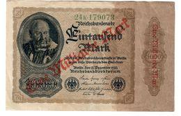 Germany 1 Billion Mark 1923 .SA. - [ 3] 1918-1933 : Repubblica  Di Weimar