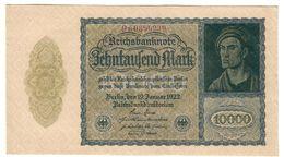 Germany 10000 Mark 19/01/1922 .SA. - [ 3] 1918-1933 : Weimar Republic