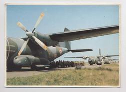 Avion Militaire - TRANSVAL C 160 - Embarquement Des Soldats - Animée - 1946-....: Era Moderna