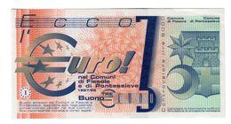 Italy - Pontassieve Experimental 3 Euro 1997 AUNC .SA. - [ 4] Emissioni Provvisorie