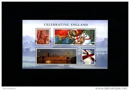 GREAT BRITAIN - 2007  CELEBRATING ENGLAND  MS MINT NH - Blocchi & Foglietti