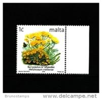 MALTA - 2006  1 C.  FLOWERS  REPRINT  MINT NH - Malta