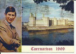 ANGLETERRE - Caernavon 1969 -- - Caernarvonshire