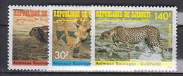 DJIBOUTI       1987                N .  633 / 635        COTE     4 . 15      EUROS        ( S 254 ) - Djibouti (1977-...)