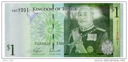 TONGA 1 PA'ANGA ND(2008) Pick 37 Unc - Tonga
