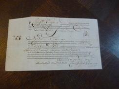 Connaissement Pays Bas Amsterdam Pour Rouen 19/05/1778 Kumpen - Netherlands