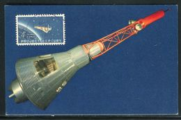 Etats - Unis - Carte Maximum 1964 - Conquête De L 'Espace - Maximumkarten (MC)