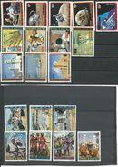 HAUTE-VOLTA  5 Séries Complètes Oblitérées VOIR Détail (19) O Cote 8,75$ 1973 - Haute-Volta (1958-1984)