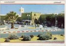 HAMMAMET TUNISIE PANORAMA NICE STAMP - Túnez