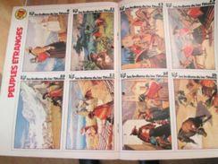 Supplément à SPIROU N° 1911 De 1974 / LES VIGNETTES PEUPLES ETRANGES : LES DAYAKS - Spirou Magazine