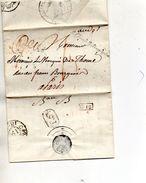 """LE GRAND REFERENDAIRE"""" L.A.C. Du 12/11/17,sceau Fleur De Lys. - 1801-1848: Precursors XIX"""