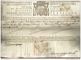FR. JOSEPH BARTHO LOMAEUS MENOCCHIO ORD. EREMIT S. AUGUSTINI 1819  COD Doc.114 - Decreti & Leggi