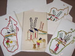100 Cartes Postales Et Enveloppes - 100 % Artisanales : Chaque Dessin Est Unique - MADAGASCAR - Madagaskar