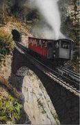 PILATUSBAHN → Bahn Unterwegs Mit Touristen, Ca.1920 - NW Nidwald