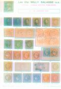 Willy Balasse 1377 - 1378 Auktion 1991 - Auktionskataloge