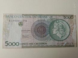 5000 Cruzeiros 1990 - Brasile
